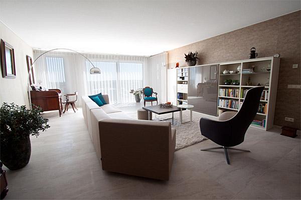 ontwerp en inrichting nieuwbouw appartement