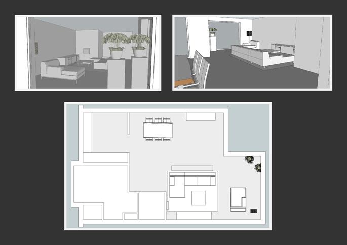 Interieurstyling ontwerpplan moderne inrichting vrijstaande woning interieurstylist - Plan indoor moderne woning ...