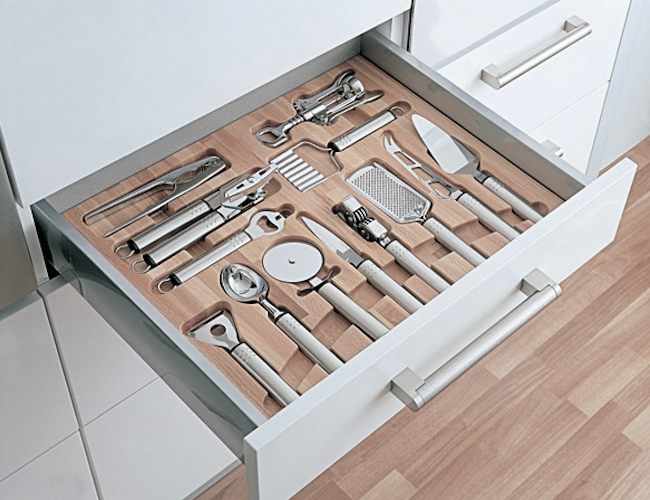 Keuken Opberg Ideeen : Tool Drawer Organizers Kitchen