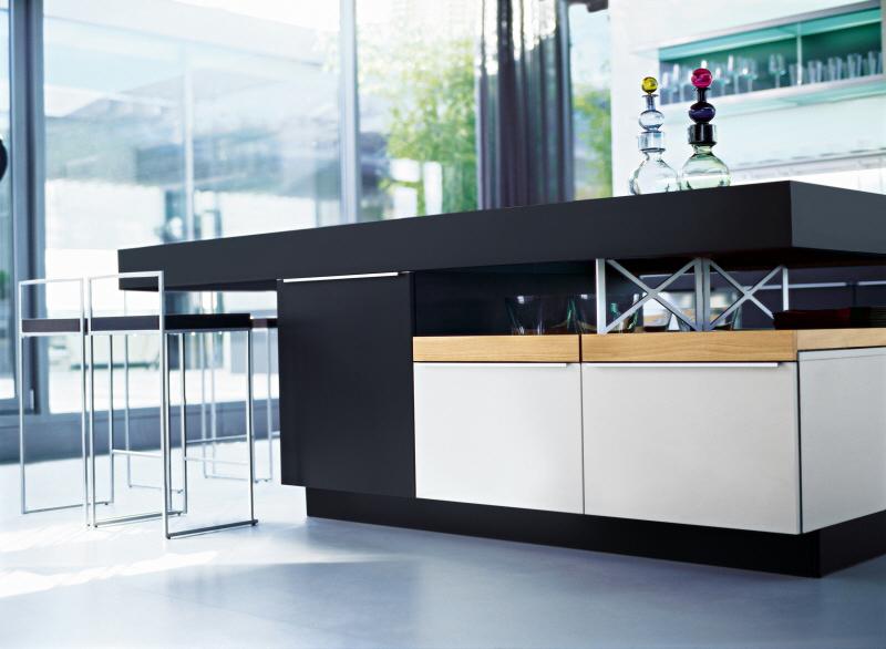 Open Keuken Of Niet : keuken die verbergt en onthult. Een andere vorm van een open keuken