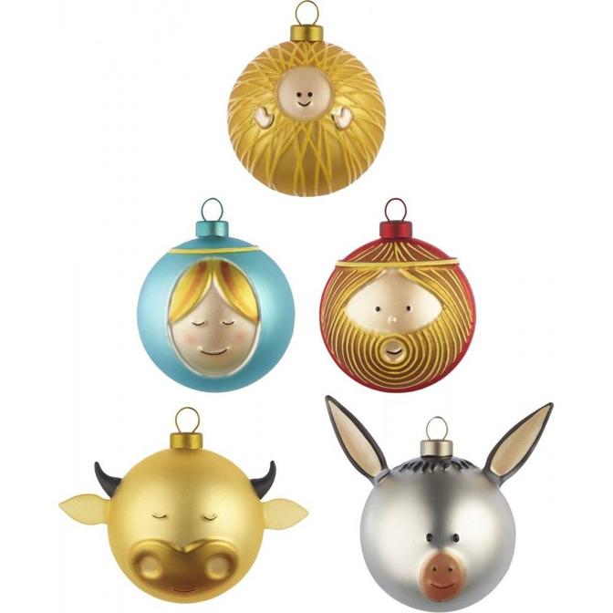 8x inspiratie voor originele kerstballen inspiraties for Alessi weihnachtskugeln