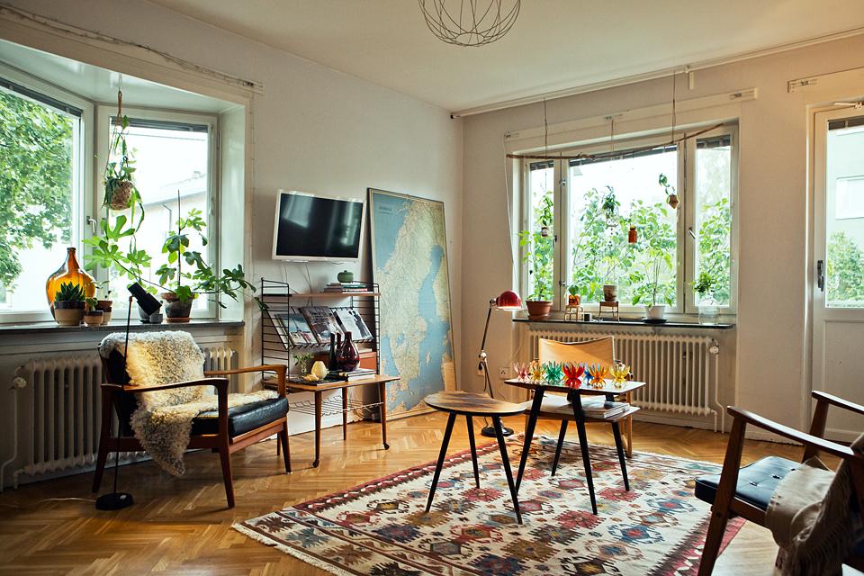 Ouderwetse gezelligheid terug in huis inspiraties - Interieur van huis ...