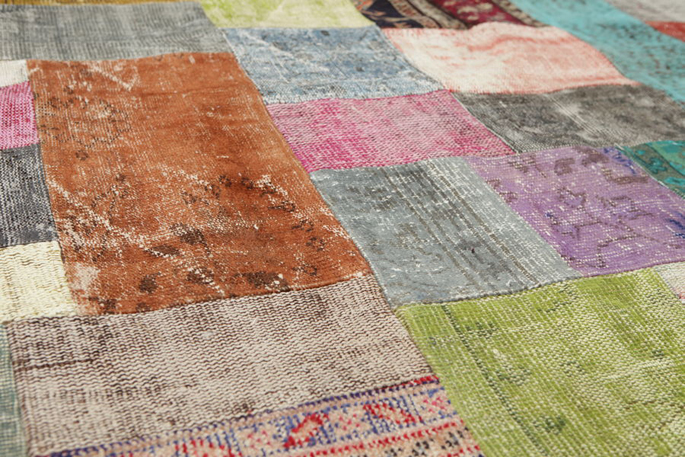 Patchwork tapijt   Inspiraties   ShowHome nl