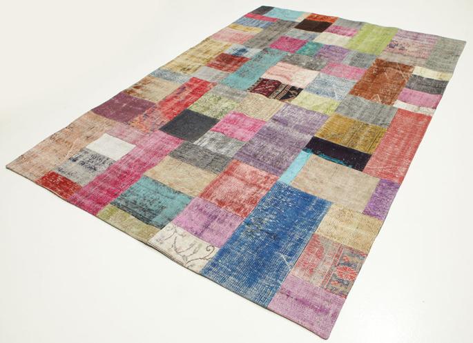 Vloer vloerkleden patchwork : Patchwork tapijt - Inspiraties - ShowHome.nl