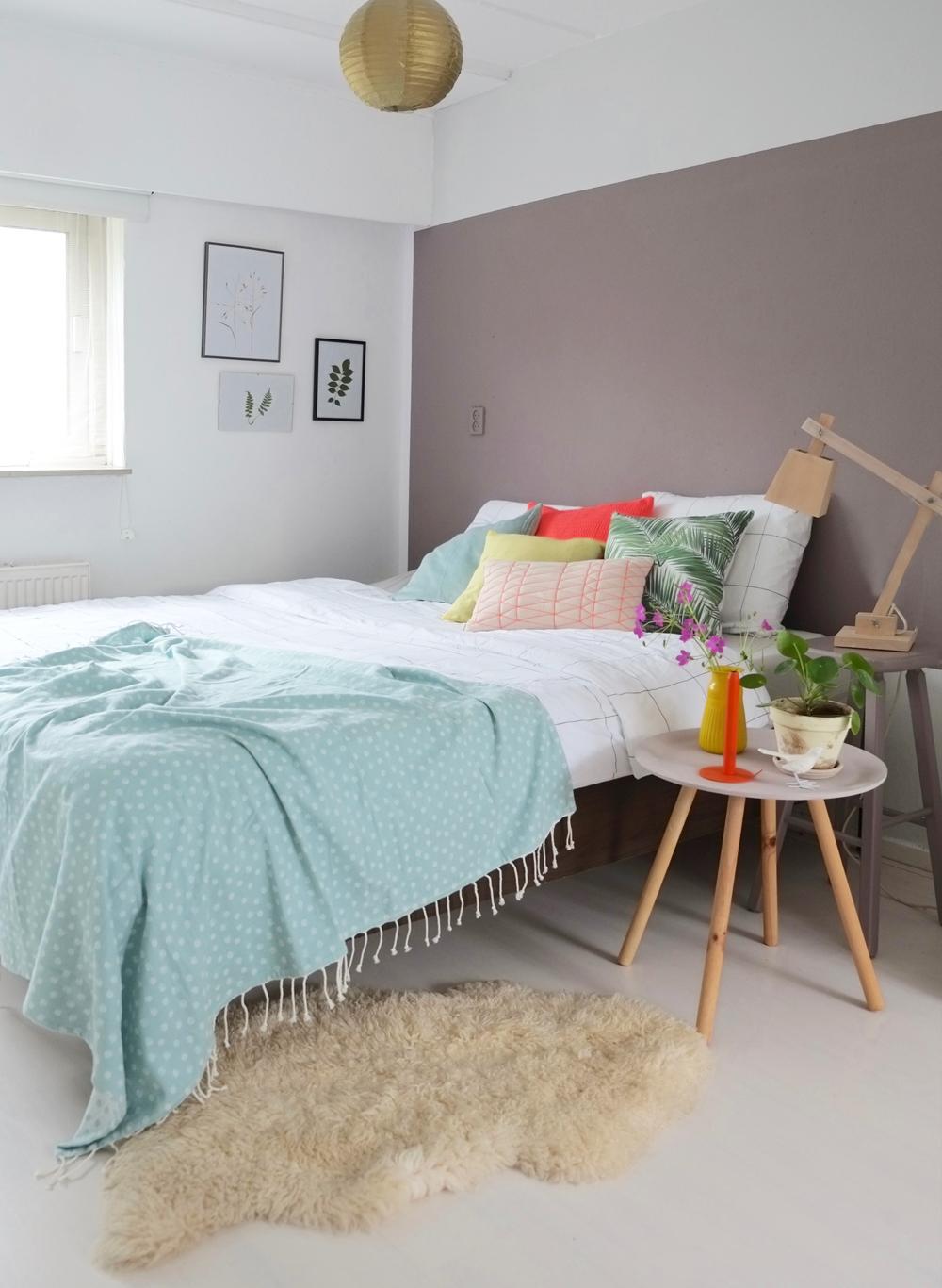 Kleur in huis inspiraties - Kleur voor de slaapkamer van de meid ...