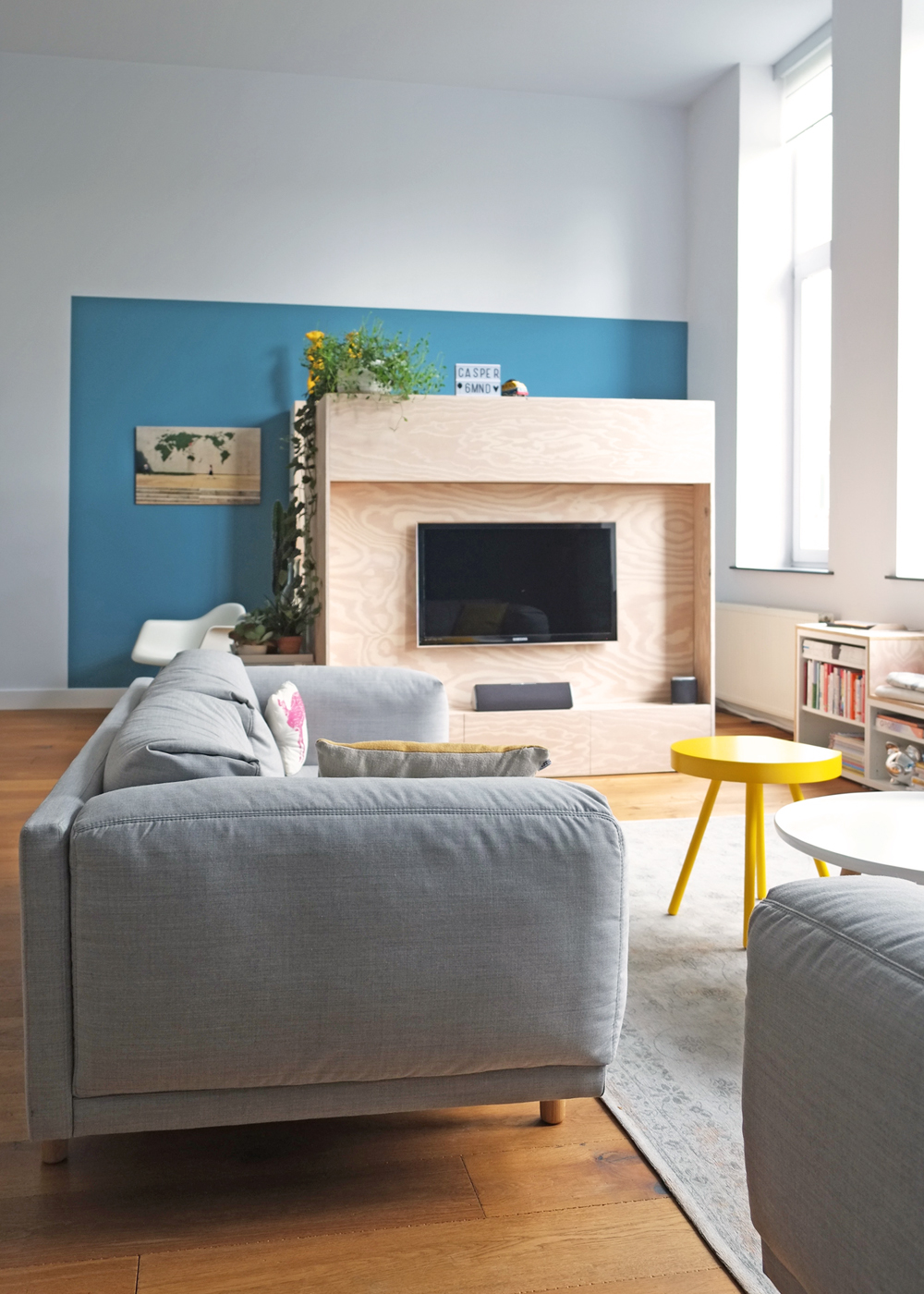 TV meubel annex werkplek - Inspiraties - ShowHome.nl