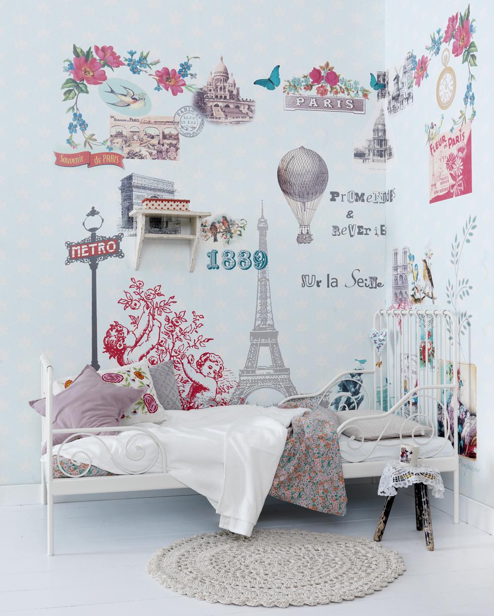 Kinderkamer interieuridee n inspiraties - Modern behang voor volwassen kamer ...