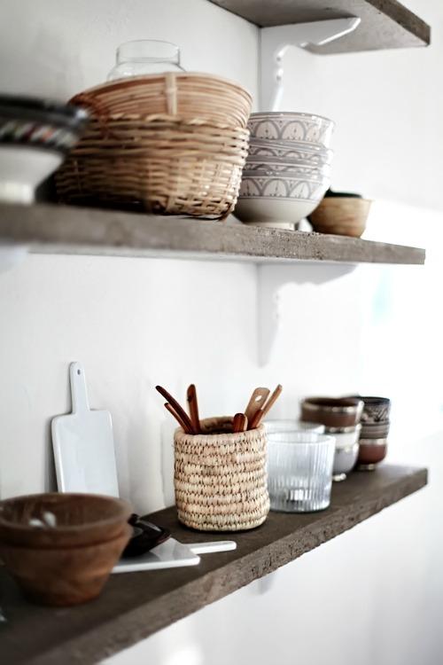 Planken in je keuken inspiraties - Muurdecoratie badkamer ...