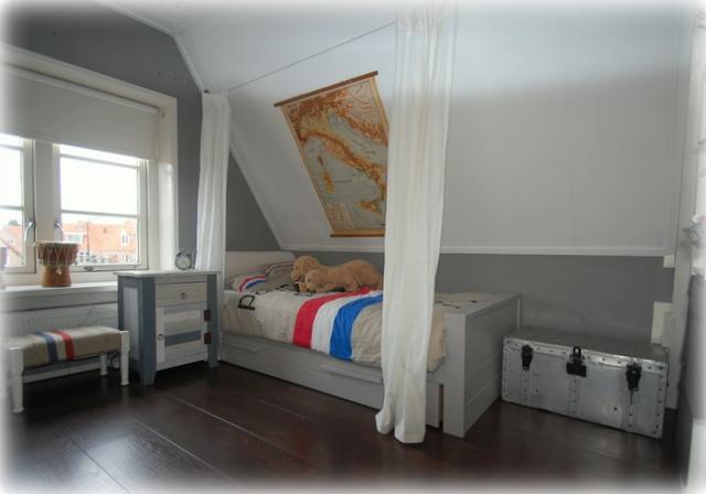 Project dj jongenskamer inspiraties - Blauwe en grijze jongens kamer ...