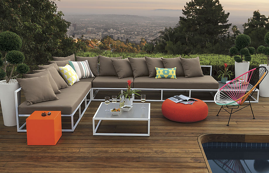 Retro lounge stoel inspiraties - Gespannen terras ...
