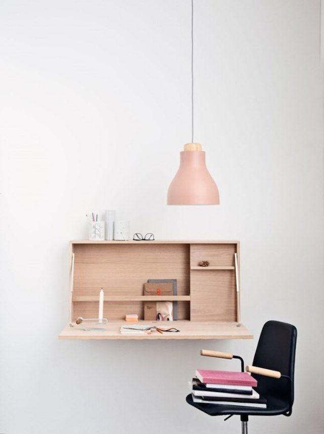 ruimtebesparend bureau inspiraties. Black Bedroom Furniture Sets. Home Design Ideas