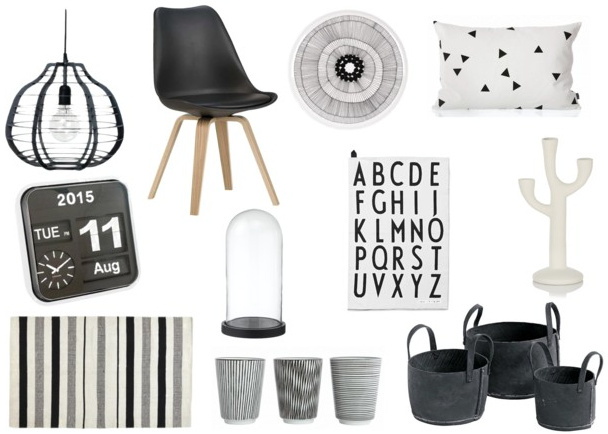 Zwart wit interieur ideeën zwart wit wonen