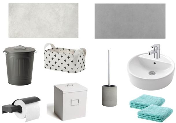 Moodboards voor toilet inspiraties showhome