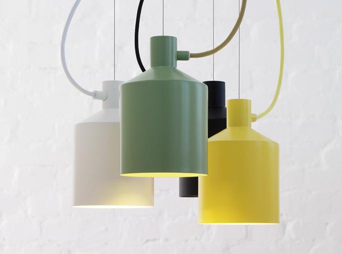 de verkrijgbare kleuren zwart wit geel en groen passen helemaal in de huidige interieurtrend en passen in menig scandinavisch interieur