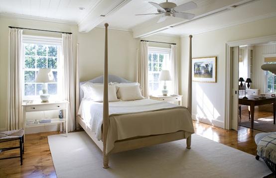 Opgeruimde slaapkamer