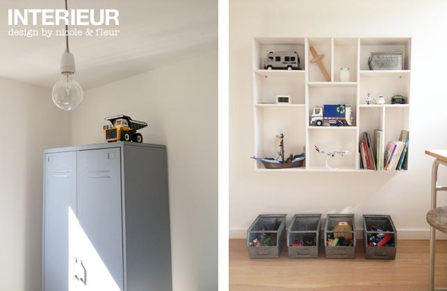 Slaapkamer voor een stoere kleuter interieurstylist - Idee deco kamer kleine jongen ...
