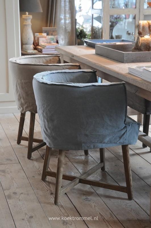 Stijlvolle eetkamerstoelen inspiraties for Landelijke eettafel stoelen