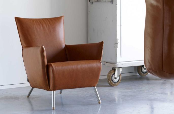 Stoere leren fauteuil inspiraties - Mooie fauteuil ...