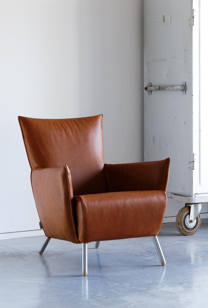 stoere leren fauteuil inspiraties