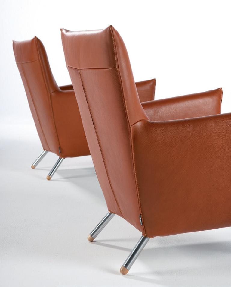 Stoere leren fauteuil inspiraties for Leren stoel