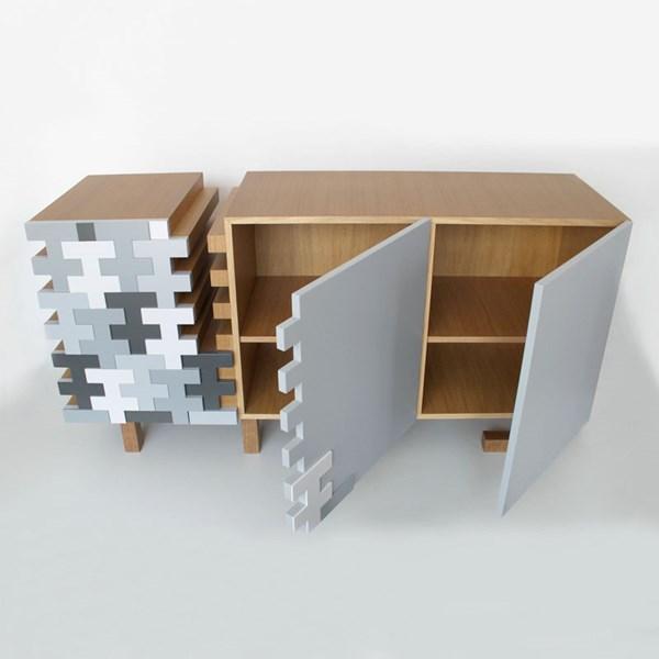 Strak dressoir