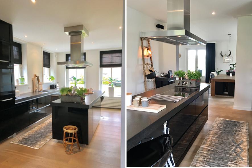 Restyling woonkamer en keuken - Interieurstylist - ShowHome.nl