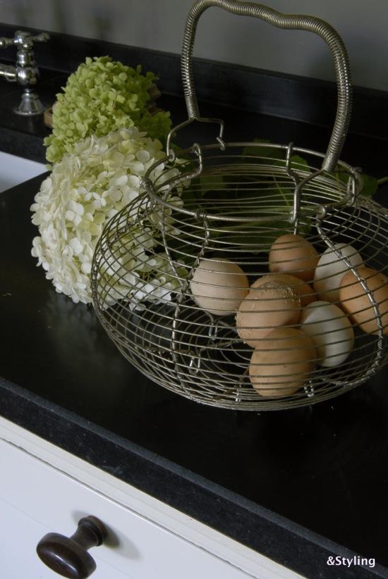 Mand voor eieren