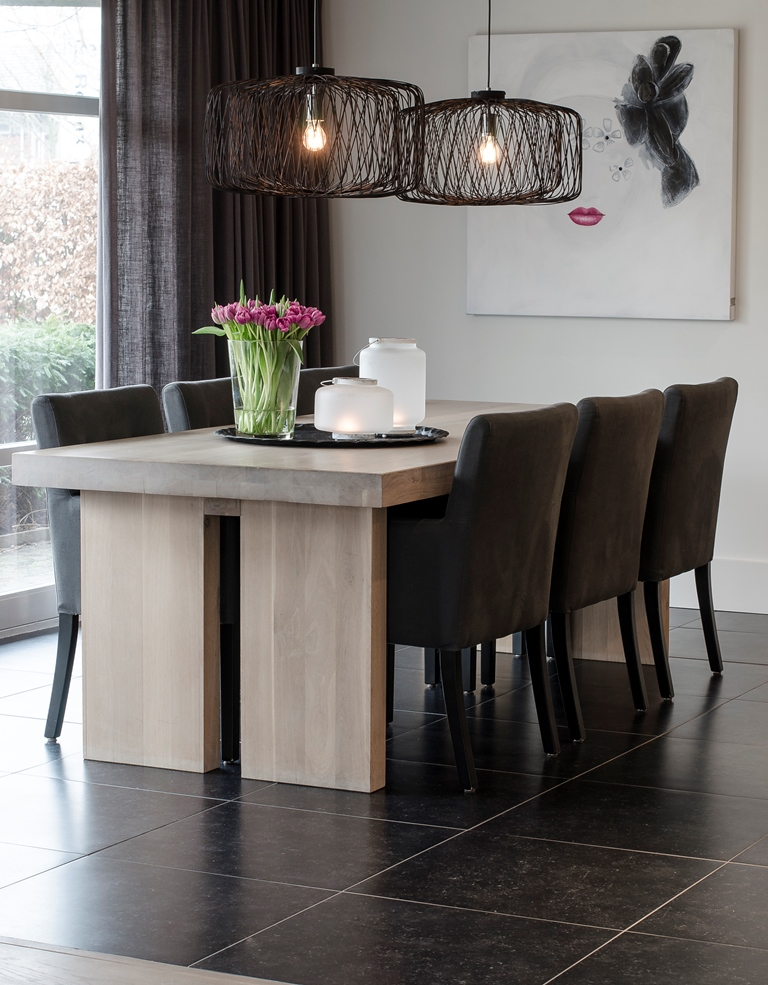 Wij hebben de woonkamer en keuken van dit prachtige huis mogen stylen!