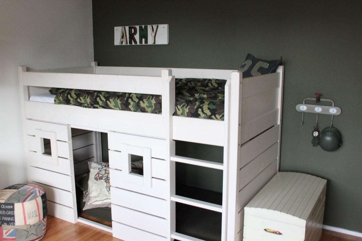 Slaapkamer voor een stoere 7 jarige interieurstylist - Deco kamer jongen jaar ...