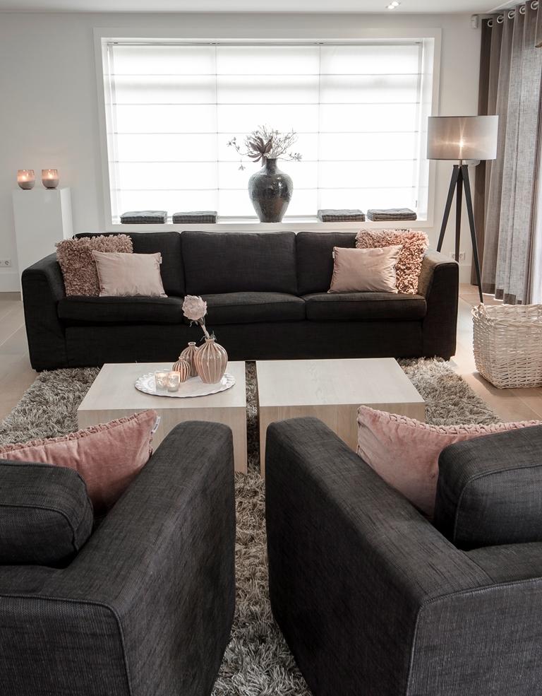 Styling woonkamer en keuken vrijstaande woning - Interieurstylist ...