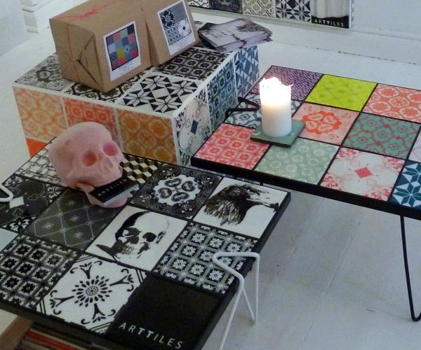 Tafel met tegels