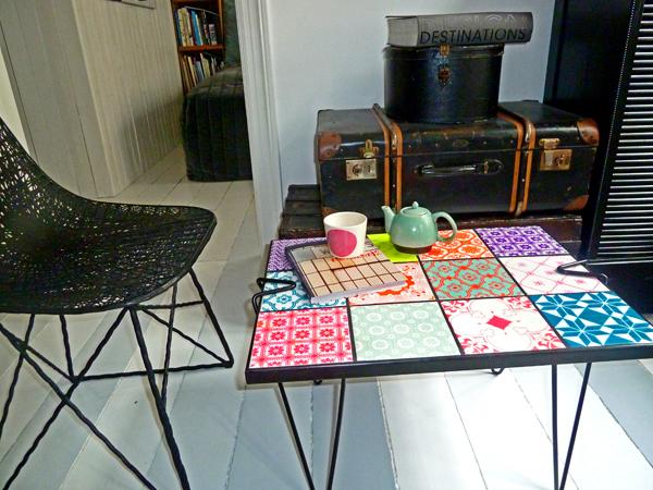 Deense Design Keukens : Tafel met tegels Inspiraties ShowHome nl