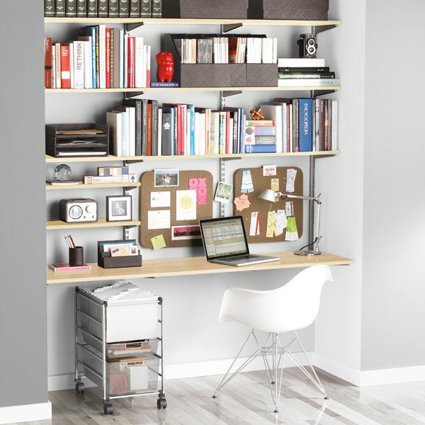 een tafel of bureau aan de muur - Inspiraties - ShowHome.nl