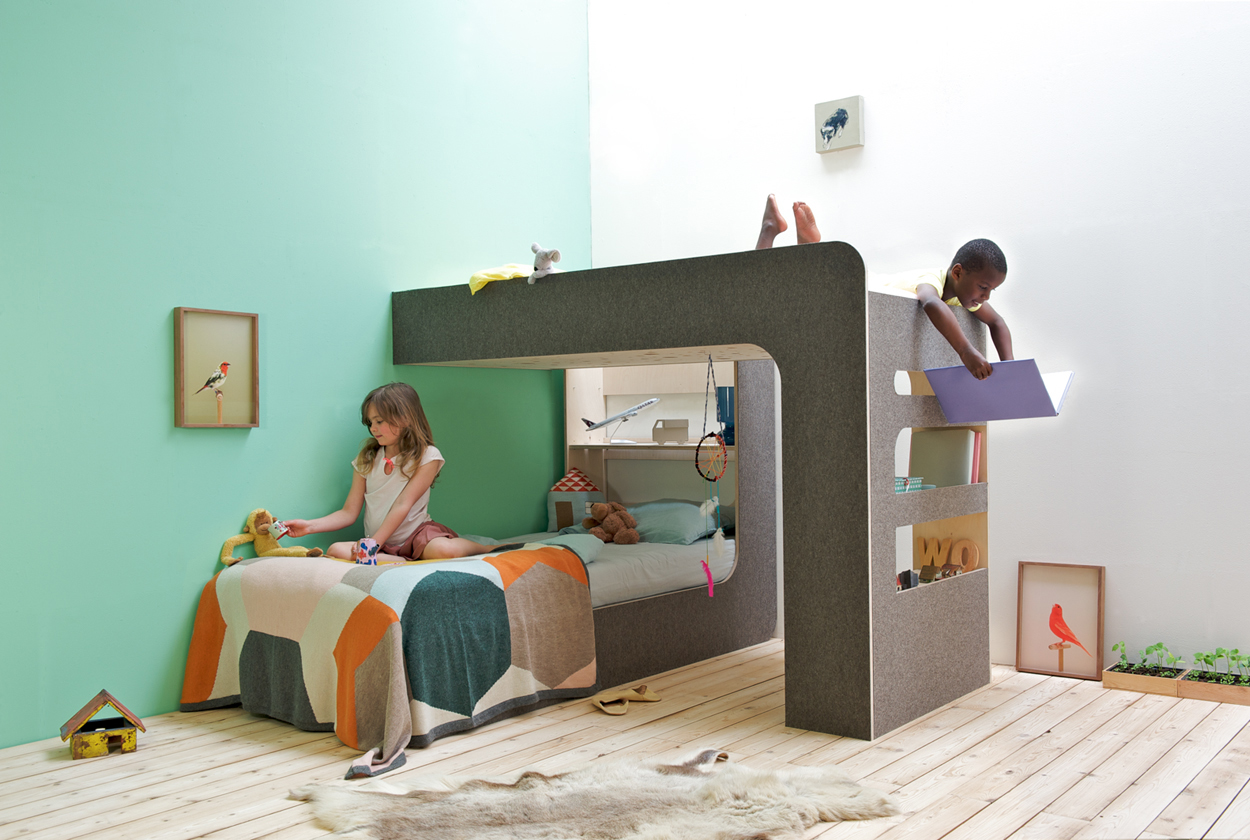 Dutch design dinsdag thomas durners 39 hippe stapelbed inspiraties - Modern kinderbed ...