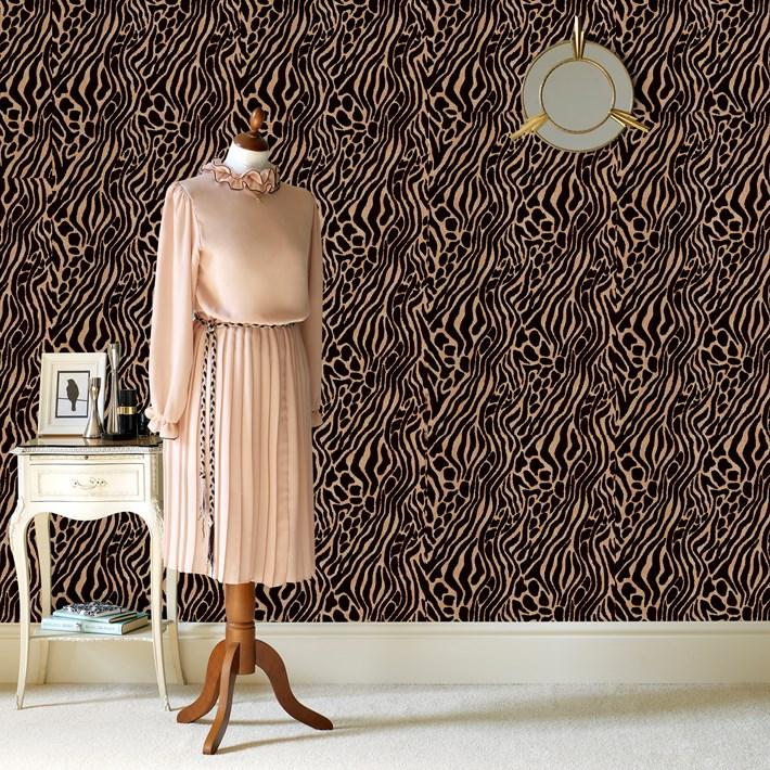 slaapkamer inspiratie tijgerprint ~ lactate for ., Deco ideeën