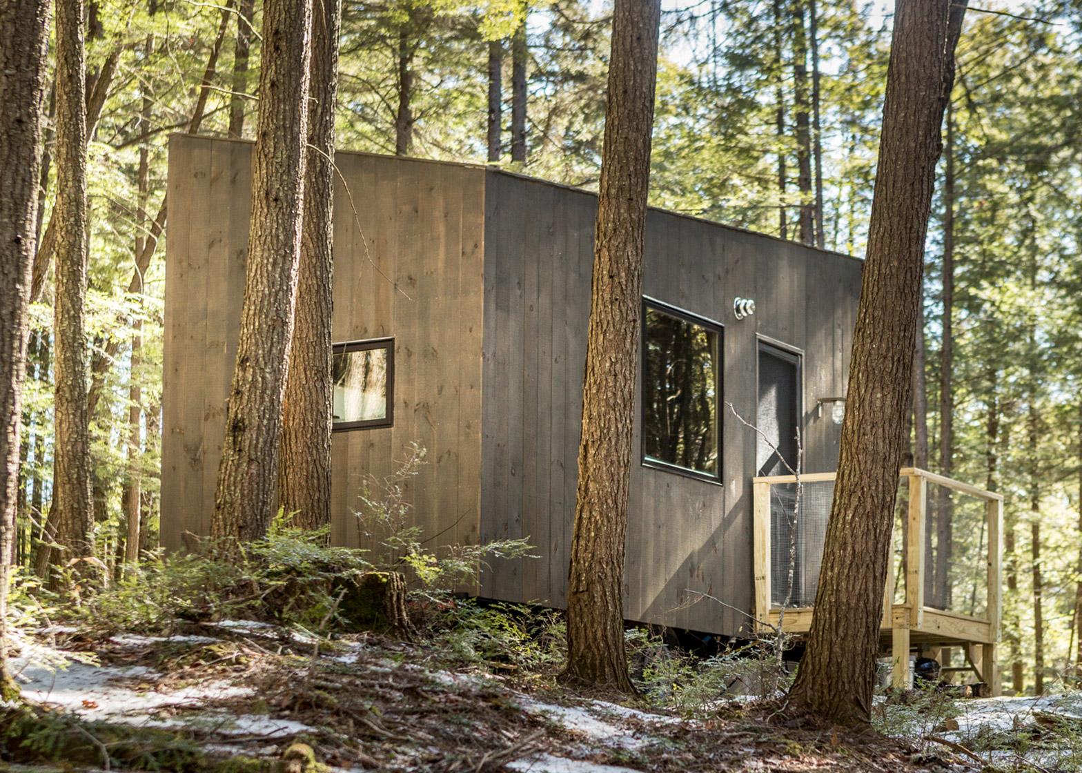 Vakantiehuisje in het bos inspiraties for Vakantiehuisje bos