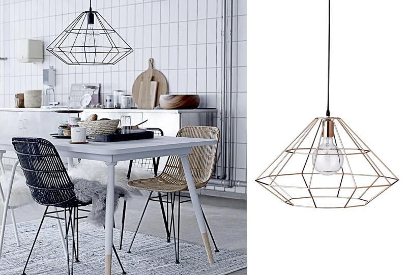 verlichting voor boven de eettafel maison et objet 2014