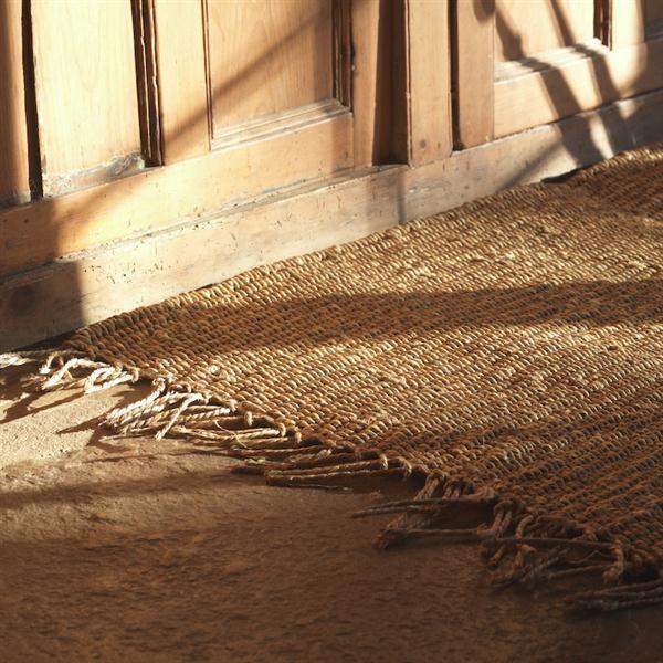 Vloerkleden van natuurlijke materialen inspiraties - Alfombra yute ikea ...