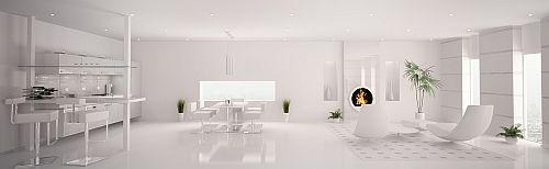 Stunning Strak Wit Interieur Contemporary - Huis & Interieur Ideeën ...