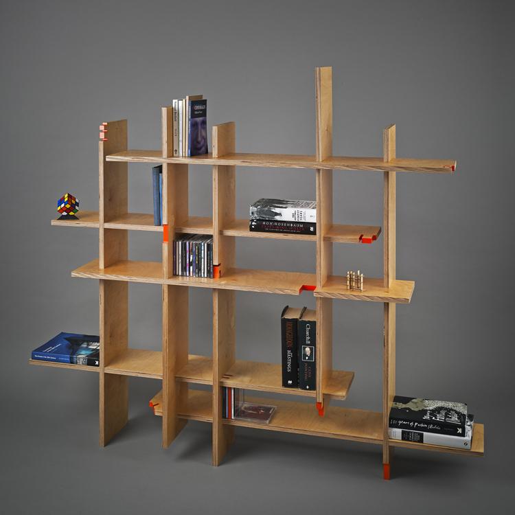 Zelfbouw boekenkast - Inspiraties - ShowHome.nl