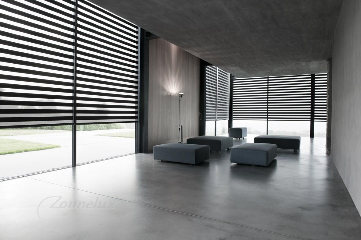 Rolgordijnen zijn een unieke aanwinst voor de woning inspiraties - Gordijnen voor de woonkamer ...