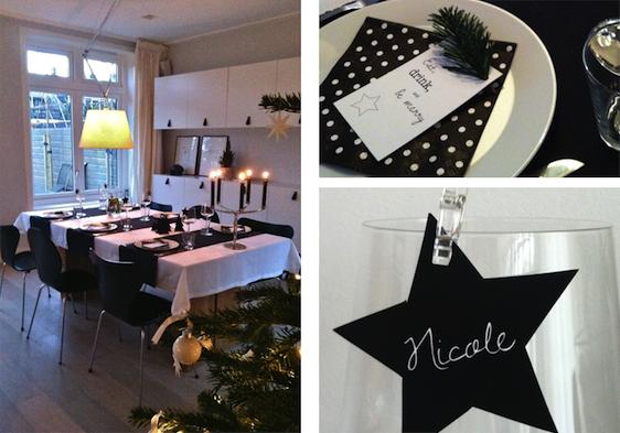 Zwart Wit Kerstdecoraties : Zwart witte kerst inspiraties showhome.nl