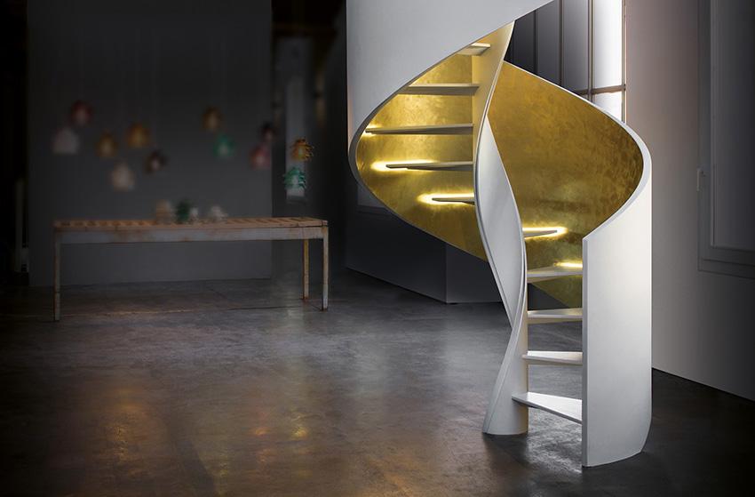 5 x een trap als meubelstuk inspiraties - Midden kamer trap ...