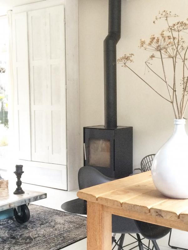 Binnenkijken interieur: Black -white -wood