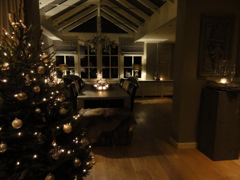 Woonkamer Kerst Decoratie