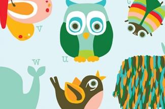 ABC Kinderkamer poster