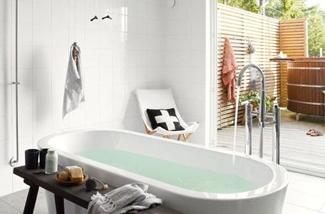 Badkamer zomer