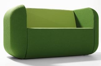 Bank tweezitter groen