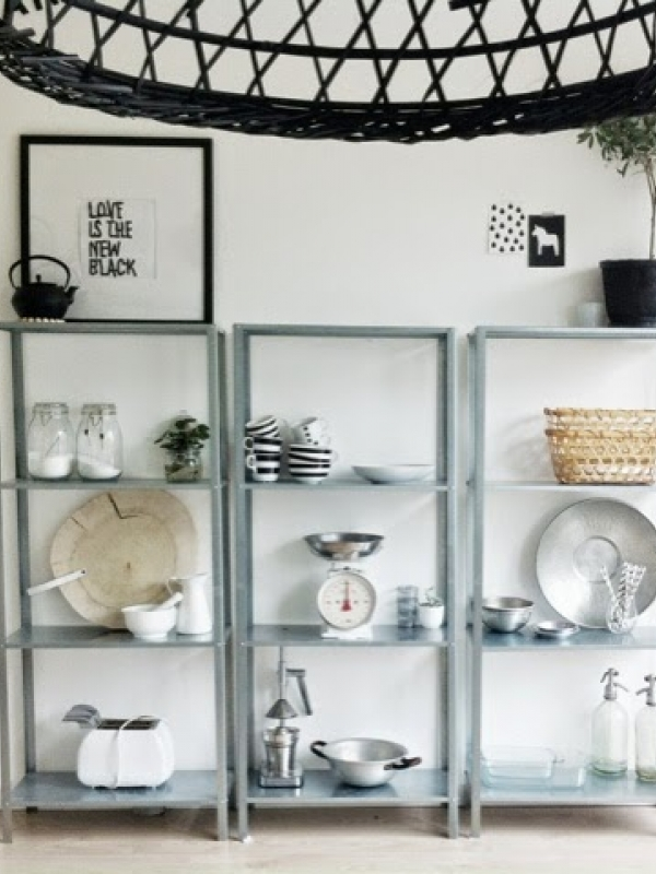 Keuken Wit Hout : Keuken Zwart Wit Hout : zwart wit hout Interieur ShowHome nl