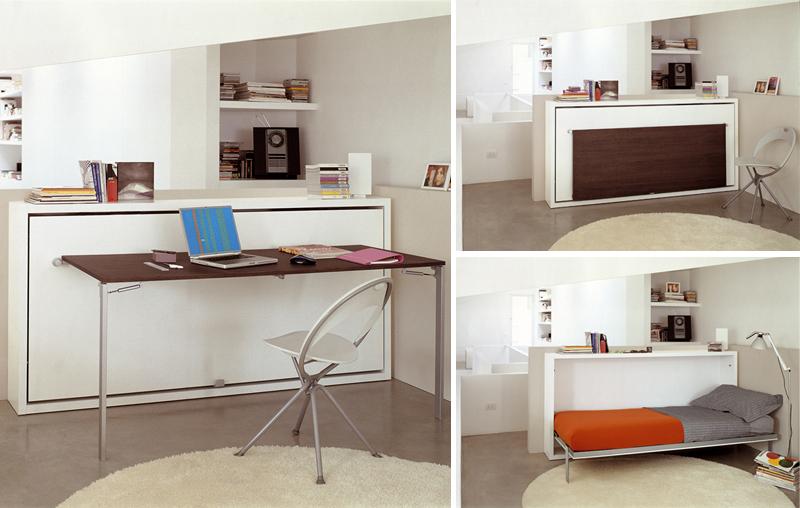 7 x een bed en bureau in een kleine ruimte inspiraties - Outs kleine ruimte ...